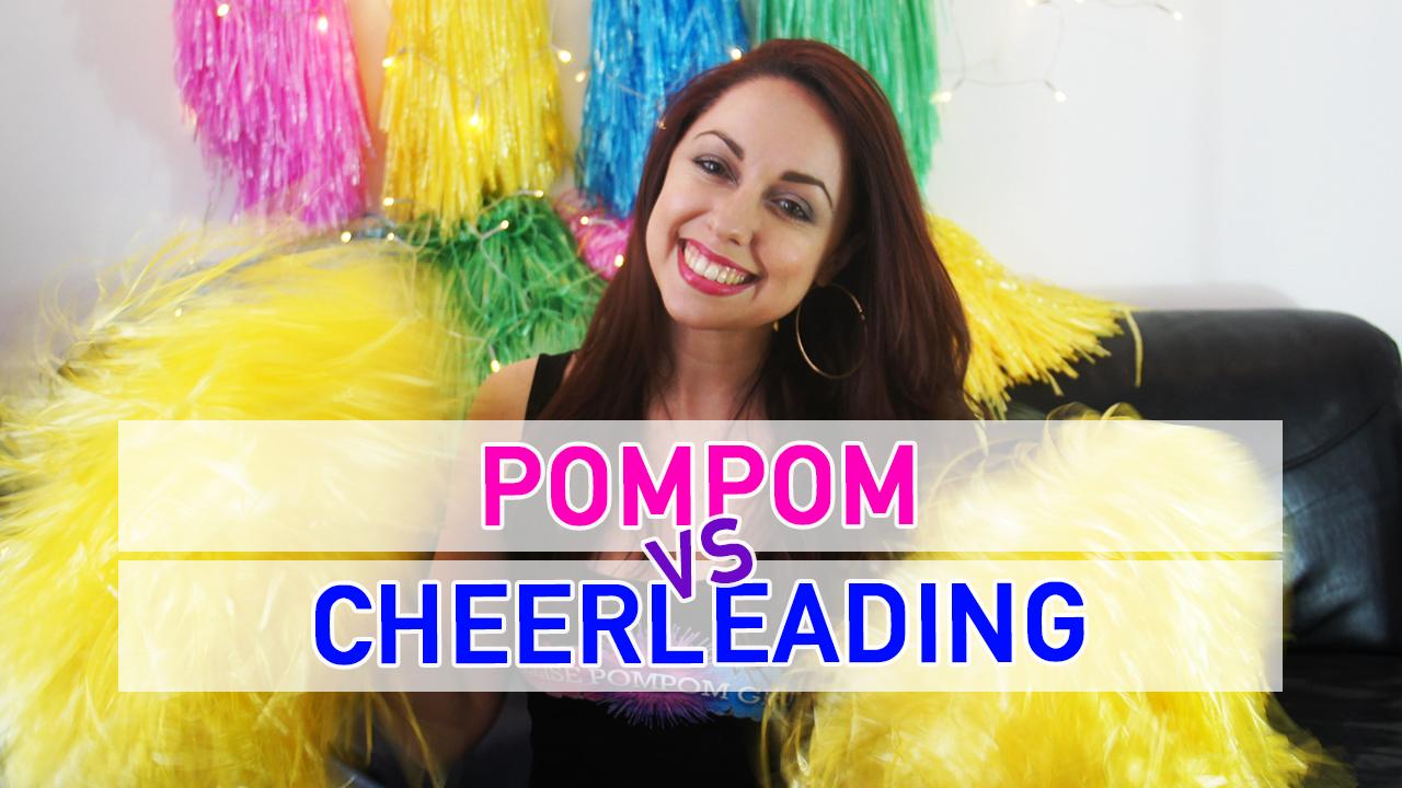 La différence entre pom pom girl et cheerleader